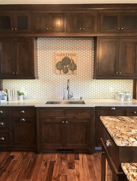 kitchen cabinets and backsplash trends from the tour herringbone hexagons and