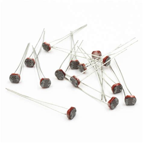 resistor ldr preço 10pcs photoresistor ldr cds 5mm resistor sensor light dependent gl5516 arduino m ebay