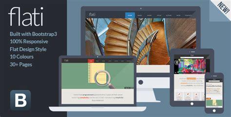 theme chrome flat design flati responsive flat design bootstrap template by