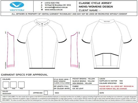 blank cycling jersey template 15 best tech pack images on product development tech pack and products