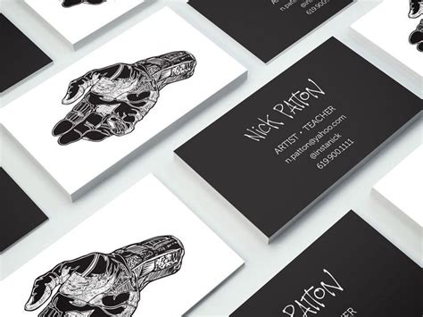 business card for artists templates the 25 best artist business cards ideas on
