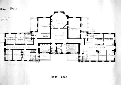 floor plans for a mansion ottershaw park