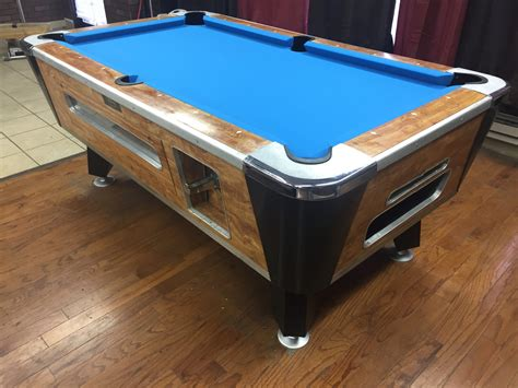 used valley pool table table 040217 valley used coin operated pool table used