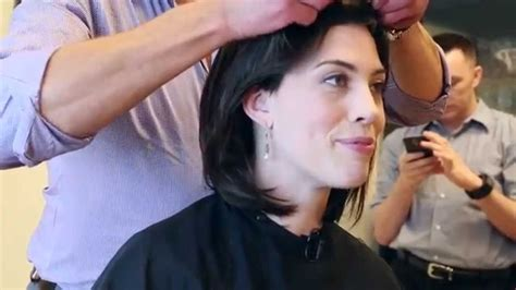 shaves head for cancer the wigging breast cancer patient shaves head before