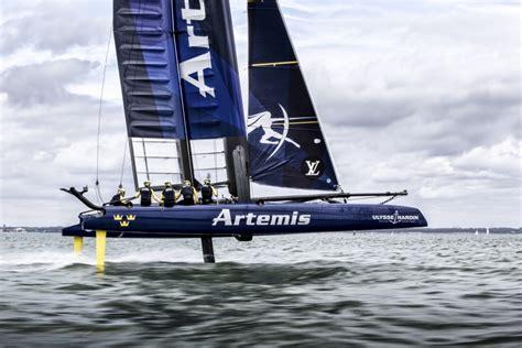 artemis racing boat artemis racing announces squad for gothenburg artemis