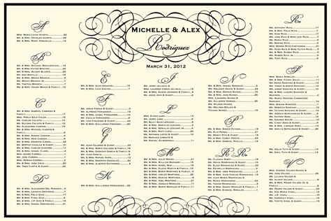 wedding seating charts template reception seating chart wedding seating