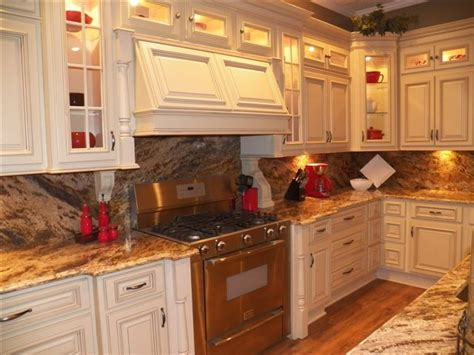 cream cabinets in kitchen arlington cream white kitchen cabinets home design