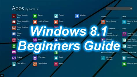 youtube tutorial windows 8 tutorial microsoft windows 8 1 beginners guide youtube