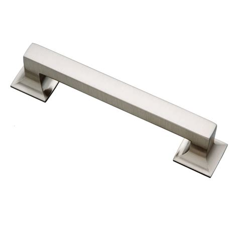 stainless steel kitchen cabinet handles and knobs hickory hardware studio 5 1 16 inch center to center stainless steel cabinet pull p3012 ss
