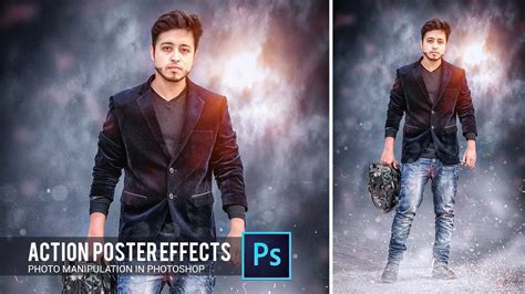 film action gratis download action movie poster effect in photoshop tutorial by hass