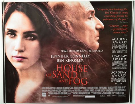 house of sand and fog movie house of sand and fog original cinema movie poster from pastposters com british quad