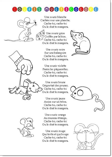 chanson douce blanche french 9782072681578 213 best comptines animaux images on french people learn french and nursery rhymes