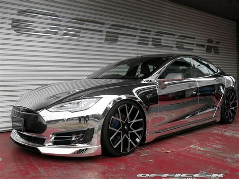 Weight Of Tesla Model S Modified Tesla Model S Punches Above Its Weight