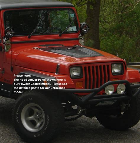 Jeep Yj Louver Jeep Yj Series Louvered Panel Hyline Offroad