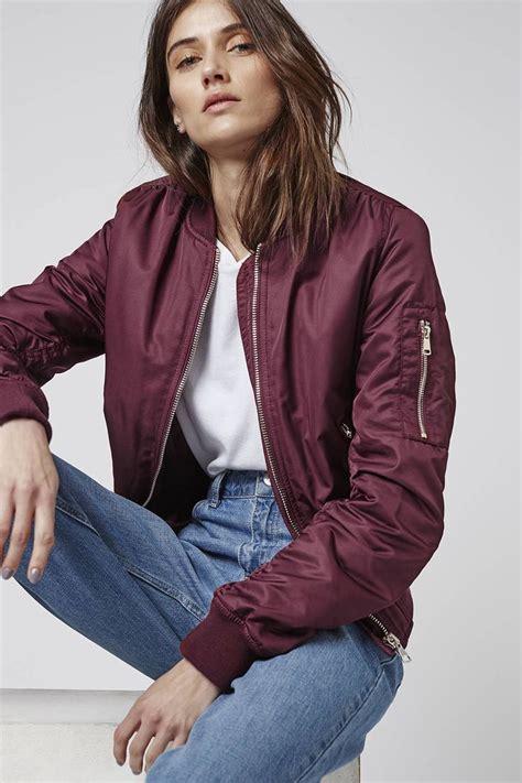 Jaket Bomber For best 25 burgundy bomber jacket ideas on