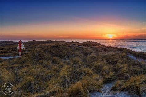 sylt island lighthouse list west on the island of sylt germany