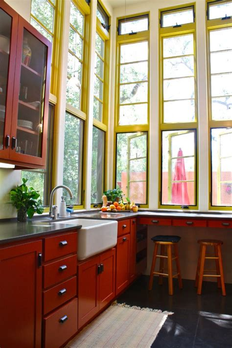 red kitchen kitchen design ideas red kitchen house interior