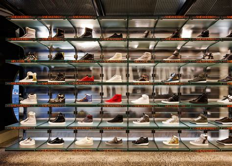 best sneaker store sneakerboy store by march studio melbourne australia