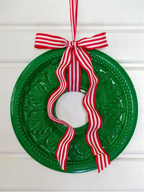 christmas wreath ideas easy crafts and homemade 65 handmade diy christmas decorating ideas easy crafts