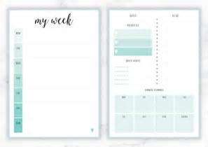 week organizer template free printable irma weekly planners eliza ellis