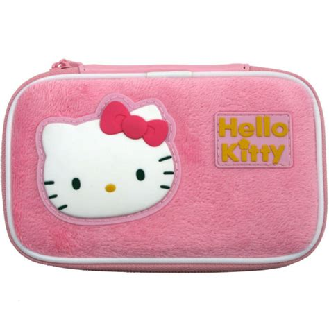 hello kitty nintendo ds hello kitty furry console case nintendo 3ds dsi ds