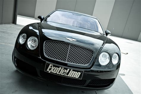 bentley limo black black bentley continental flying spur by exotic limo