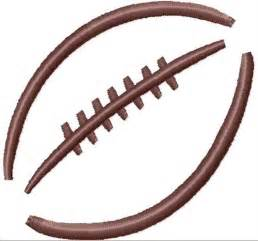 Football Laces Outline by Football Outline Embroidery Designs Machine Embroidery Designs At Embroiderydesigns