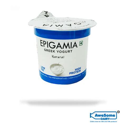 protein yogurt brands buy epigamia yogurt 90g best