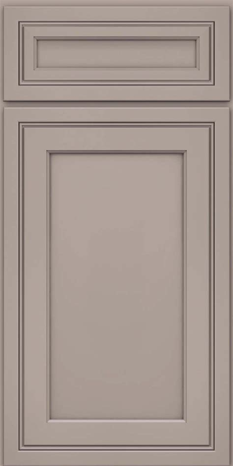 grey kitchen cabinet doors door detail square recessed panel veneer asm maple in pebble grey kraftmaid cabinetry