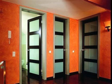 interior door with window insert modern interior doors