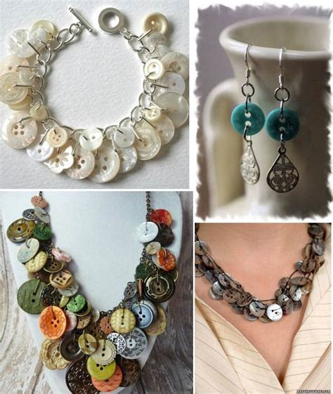 jewelry projects ideas 20 diy button projects easy and craft fashion and
