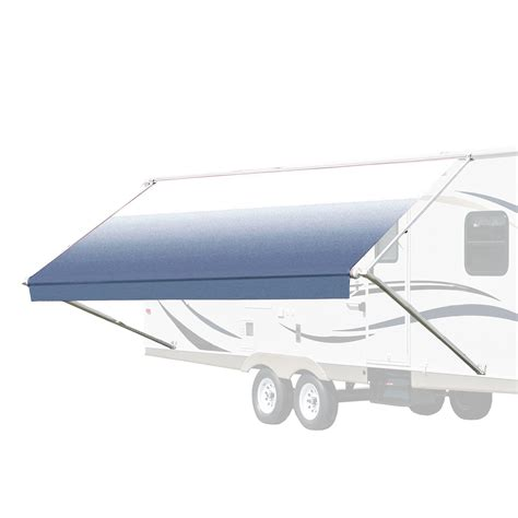 rv retractable awnings retractable rv patio awning 8x8 feet aleko