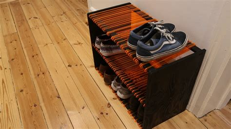 Build Your Own Shoe Rack by Cotter Lasersk 228 Rning