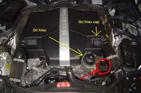 2006 E350 Diy Question What Type Of Oil Goes In Here