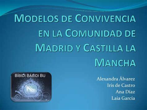 madrid comunidad de madrid d g de la mujer modelos de convivencia en la comunidad de madrid