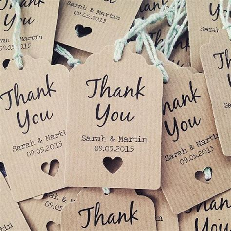 Wedding Favors Thank You Tags by Best 25 Favor Tags Ideas On