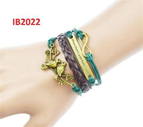Gelang Kulit Batik buy aneka gelang kulit trendy accesories pria wanita