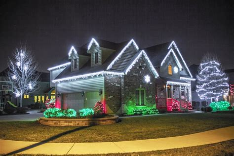 outdoor christmas lights ideas for the roof get go