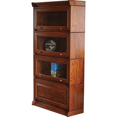 stackable bookshelves barrister stackable bookcase amish crafted furniture