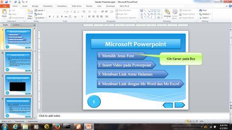 membuat video presentasi dengan powerpoint membuat presentasi dengan powerpoint rumah belajar online