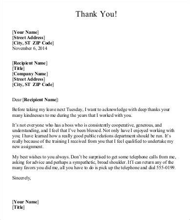 thank you letter to my for bonus thank you letter to 6 free word pdf documents