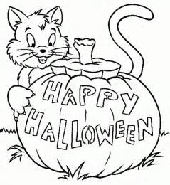 Halloween Coloring Pages Print Free Coloring Pages Kids Collection