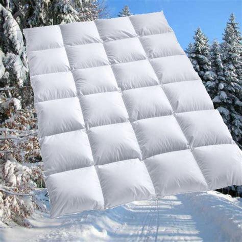 winter bettdecke allergiker 100 sibirische daunen bettdecke daunendecke daunenbett