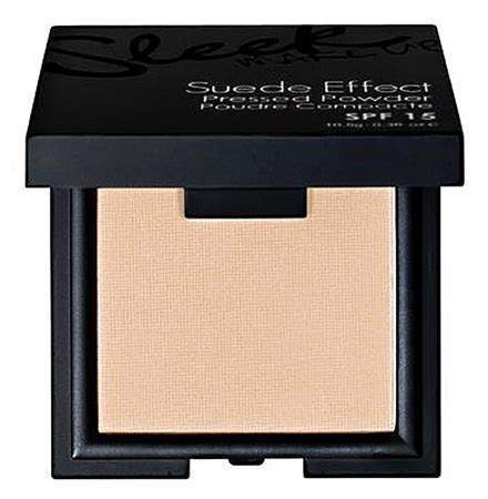 Limited Bioaqua Make Up Profesional Pressed Powder sleek makeup suede effect pressed powder