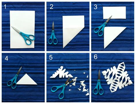 Steps To Paper - paper snowflake tutorial just wanna