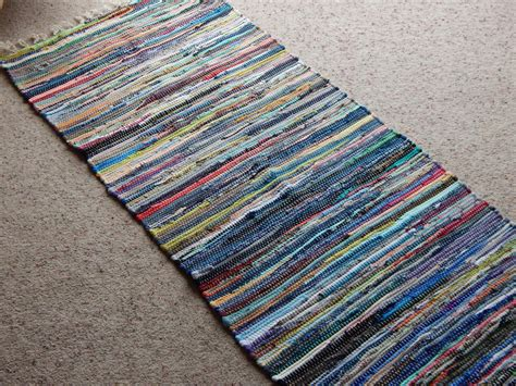 rag rug runners cotton rag rug runner multi coloured fair trade india shabby chic 3 sizes new