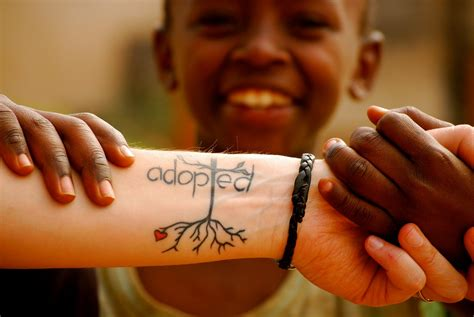 adoption tattoo ideas adoption in kenya the internationalist seeing