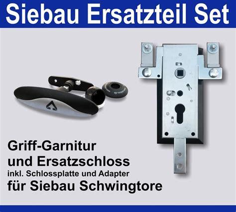 garagentor griffgarnitur siebau set garagentorgriff ersatzschlo 223 zu 1083 9 f 252 r