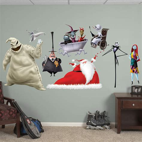 nightmare before wall decor nightmare before collection wall decal shop