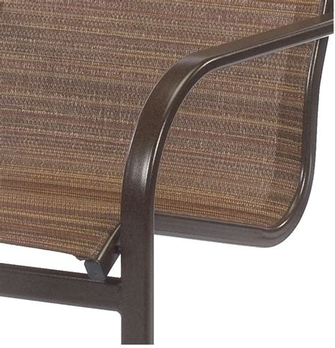 Sling Chair Material by Pool Furniture Supply Dining Chair Fabric Sling Aluminum